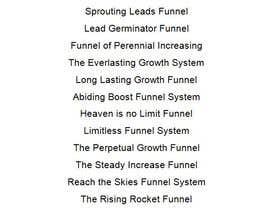 #32 para Name my lead generation funnel por mvamva