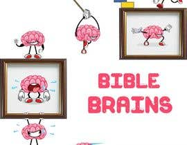 #38 for Create a piece of Art using our logo and our Bible-brain characters by mycreativeworld1