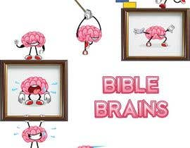 #39 cho Create a piece of Art using our logo and our Bible-brain characters bởi mycreativeworld1