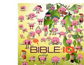 #13 for Create a piece of Art using our logo and our Bible-brain characters by Nayim10