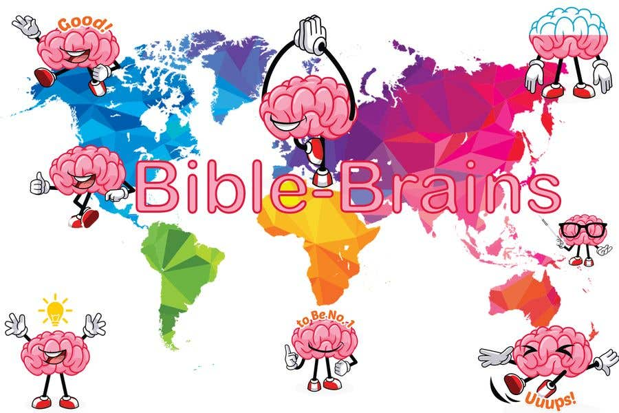 Bài tham dự cuộc thi #10 cho Create a piece of Art using our logo and our Bible-brain characters