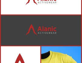 #187 for New Logo Design for Alanic Activewear af Billdes