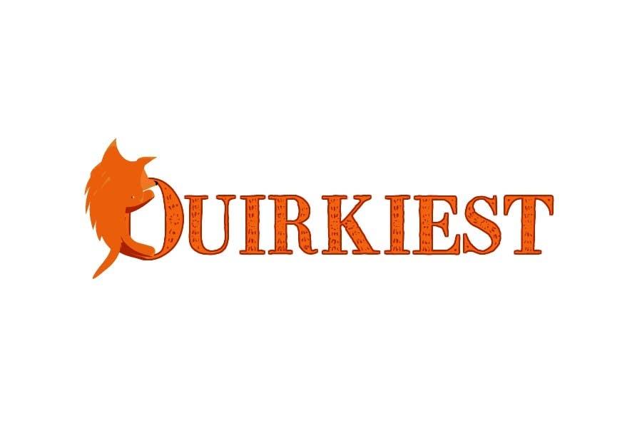 Participación en el concurso Nro.101 para Logo Design for www.quirkiest.com