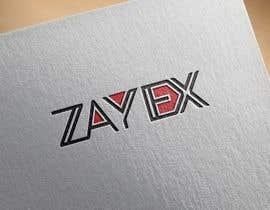 nº 354 pour Design the logo for the name: Zayex par mdtazin2