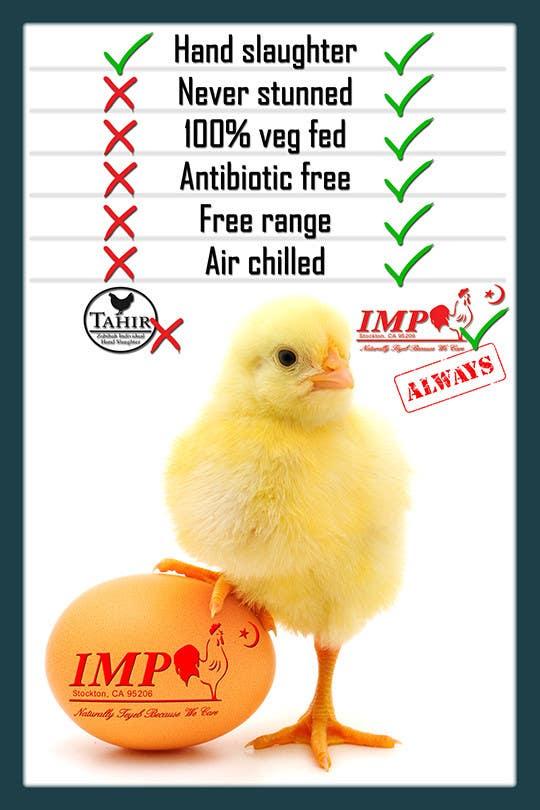 Inscrição nº 20 do Concurso para Advertisement Design for chicken product comparison