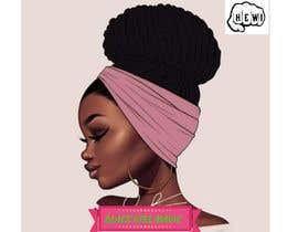 """#15 for Attached are previous design and also attached are examples of what I am looking for. In the new logo I want a black woman with the words """"BLACK GIRL MAGIC"""" in it. Also as said earlier it needs to have the brand name; """"HIT EM WIT IT"""" and """"HEWI"""". af Akanksha1200"""