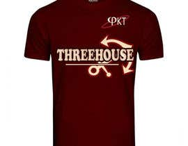 "#3 untuk A jersey with the word ""THREEHOUSE"" with Florida State University colors. With the letters φKT included as well. The pictures are an example from 3 years ago. oleh FatemaDhirani"