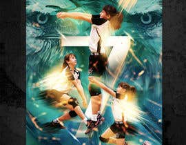 #60 for Volleyball Sports Poster by edyna9
