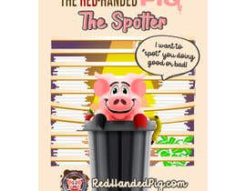 """mirandalengo tarafından Enhance our Marketing Poster for our Red-Handed Pig product called """"THE SPOTTER"""" için no 33"""