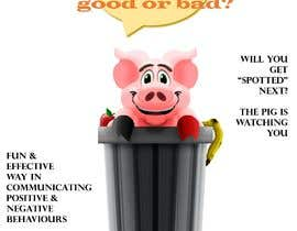 "#15 cho Enhance our Marketing Poster for our Red-Handed Pig product called ""THE SPOTTER"" bởi peiyingev"