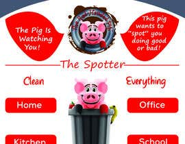 "mdmurshed1997 tarafından Enhance our Marketing Poster for our Red-Handed Pig product called ""THE SPOTTER"" için no 12"