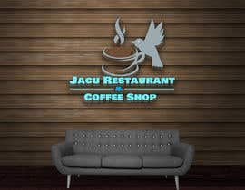 #149 cho I need a logo for my coffee shop the name is Jacu Restaurant and Coffee Shop jacu is a Bird Google the picture of the Bird need to be use in the logo bởi poranmia2222