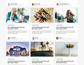 #38 for Need Blog website design (html) by zaxsol
