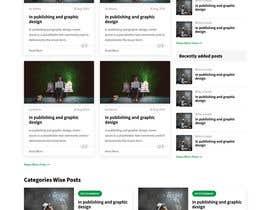 #31 cho Need Blog website design (html) bởi webhazrat