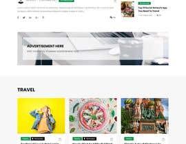 #30 cho Need Blog website design (html) bởi CoderSagor