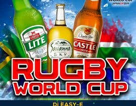 #4 for design a poster ( Rugby world cup ) south Africa vs af ajmal32150