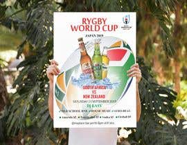#8 for design a poster ( Rugby world cup ) south Africa vs af GraphiceDon
