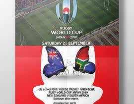 #7 for design a poster ( Rugby world cup ) south Africa vs af shakilnazim3