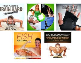 #4 untuk Website Design for 5 x Facebook image tiles, HEALTH AND FITNESS oleh creationz2011