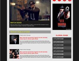 #4 untuk Mafia Game website homepage design oleh samueldasilvap