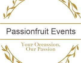 #40 cho Passionfruit Events - Your Occassion, Our Passion. bởi LokeshSharma0204