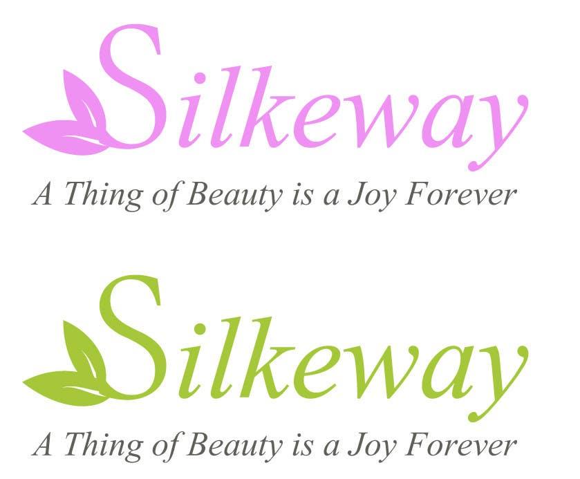 Inscrição nº                                         13                                      do Concurso para                                         Logo Design for Silkeway