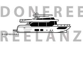 #265 para Simple boat line art logo por donfreelanz