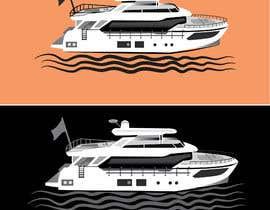 #248 para Simple boat line art logo por mdjahedul962