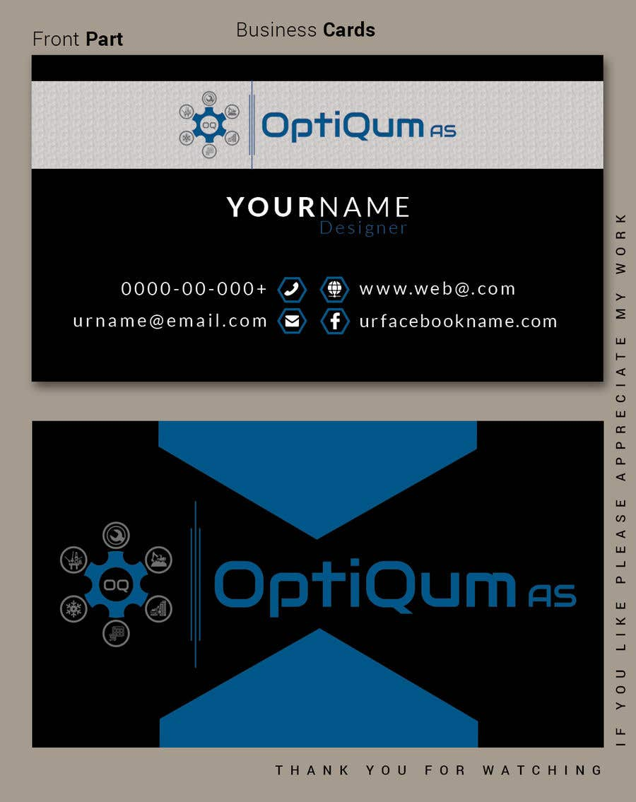Contest Entry #43 for Business Card