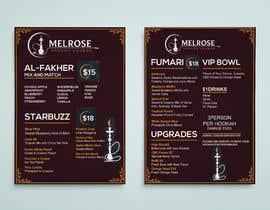 #25 dla Build Menu for Hookah Lounge przez alamin216443