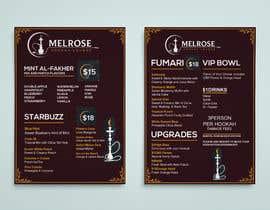 #26 dla Build Menu for Hookah Lounge przez alamin216443