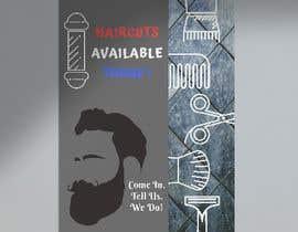 #4 untuk Graphic design A Frame Barber Shop oleh MaisarahNordin