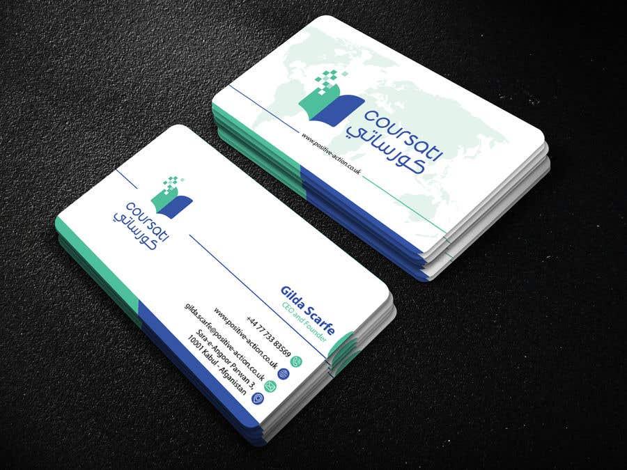 Inscrição nº 410 do Concurso para Design Business Card
