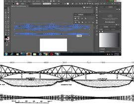 #6 for Drawing of a bridge af ahmed1sarwar