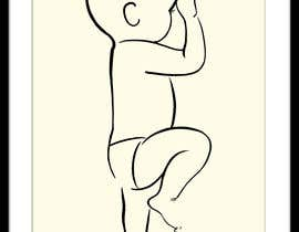 #101 for Illustration of a baby silhouette (simplified) by artkrishna