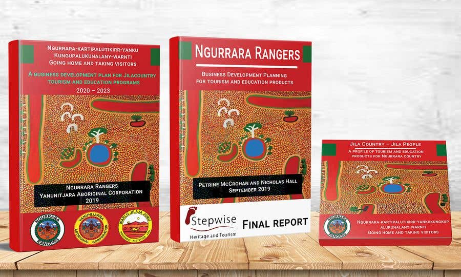 Bài tham dự cuộc thi #15 cho Ngurrara Rangers project reports cover design