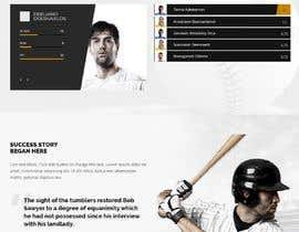 #5 cho Create a website that is easy to update for a high school baseball teams. Need tabs to click on with the following options: roster schedule records Acme fundraising records history facilities staff bởi MorahFred