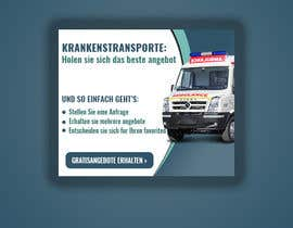#58 для create banner 300 x 250 px for patient transport от modiprince