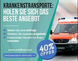 #107 для create banner 300 x 250 px for patient transport от imranshikder