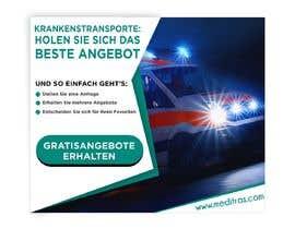 #92 для create banner 300 x 250 px for patient transport от SebiSebi