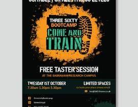 #89 cho design poster/flyer for outdoor fitness bootcamp bởi ShahabibulAsma