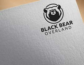 """#22 for I would like a logo designed to showcase my company name which will be """" black bear overland"""" I'm looking for the outline of a black bear inset in a semi circle( globe) or something similar, but I'm not limited to that design. by logodesign24"""