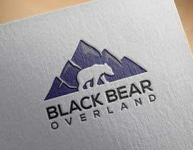 """#84 for I would like a logo designed to showcase my company name which will be """" black bear overland"""" I'm looking for the outline of a black bear inset in a semi circle( globe) or something similar, but I'm not limited to that design. by nasironline791"""