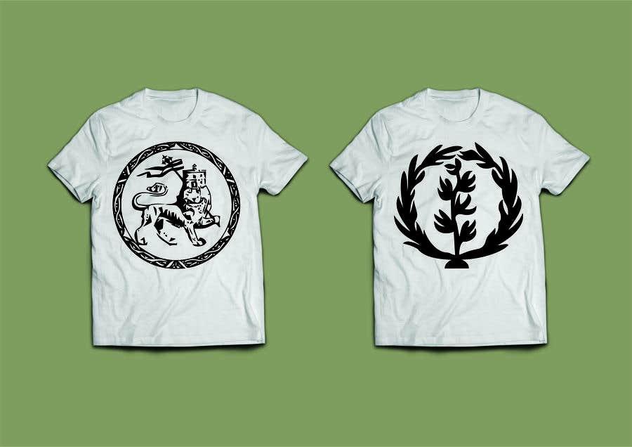 Konkurrenceindlæg #5 for Design an Ethiopian or Eritrean T-shirt
