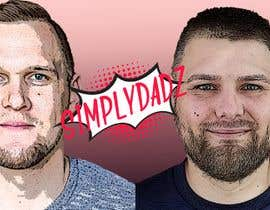 #65 for starting a youtube channel called SIMPLYDADZ. its going to be about two dads discussing parenting issues. I though maybe the logo would be cool if it was two of our faces in cartoon format or pencil and the name underneath but I'm open to any ideas. by knockoutpreso