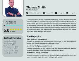 #5 for Build me a speaker profile by numan679