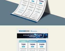 #11 untuk Flyer Design - Digital Marketing Package Comparison oleh AdlinKamal