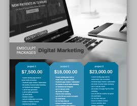 #24 for Flyer Design - Digital Marketing Package Comparison by tanjabvw
