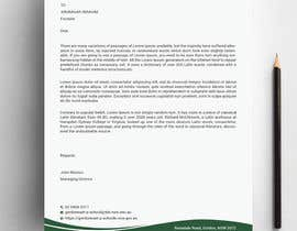 #264 para Letterhead, with compliments slip and business cards por Designopinion