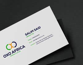 #42 untuk Design a Logo and Business Card for OXO Africa oleh takujitmrong